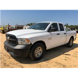 2015 RAM 1500 PICKUP TRUCK, VIN/SN:1C6RR6FG2FS703379 - EXT CAB, V6 GAS ENGINE, A/T, ODOMETER READING