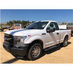 2015 FORD F150 XL PICKUP, VIN/SN:1FTMF1CP3FKE52150 - V6 GAS ENGINE, A/T, ODOMETER READING 29,951 MIL
