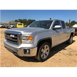 2015 GMC PICKUP, VIN/SN:1GTR1UEC3FZ404039 - CREW CAB, V8 GAS ENGINE, A/T, ODOMETER READING 170,228 M