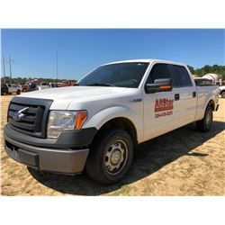 2012 FORD F150 PICKUP, VIN/SN:1FTFW1CF3CFC23486 - CREW CAB, V8 GA ENGINE, A/T, ODOMETER READING 210,