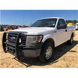 2011 FORD F150 PICKUP, VIN/SN:1FXFX1EF6BFB17679 - 4X4, V8 GAS ENGINE, A/T, BED COVER, ODOMETER READI