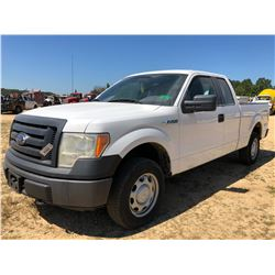 2011 FORD F150 PICKUP TRUCK, VIN/SN:1FTEX1EM8BFB46858 - 4X4, EXT CAB, V8 GAS, A/T, ODOMETER READING