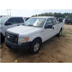 2009 FORD F150 PICKUP TRUCK, VIN/SN:1FTRX12V99FB02344 - EXT CAB, V8 GAS ENGINE, A/T, ODOMETER READIN