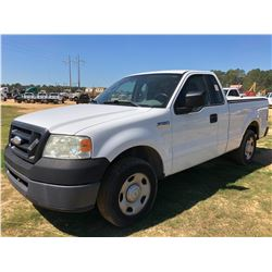 2008 FORD F150 PICKUP, VIN/SN:1FTRF12278KB37351 - EXTRA CAB, V6 GAS ENGINE, A/T, BED COVER, ODOMETER