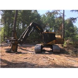 2011 TIGERCAT 860C TRACK FELLER BUNCHER, VIN/SN:8601220 - TRACK MTD, TIGERCAT 5701 SAW HEAD W/110 WR