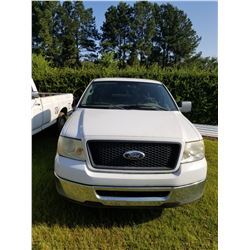 2006 FORD F150 PICKUP TRUCK, VIN/SN:1FTRF12216KB27217 - (CITY OWNED) (SELLING ABSENTEE LOCATED AT 12