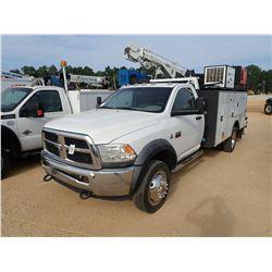 2012 DODGE 5500 MECHANICS TRUCK, VIN/SN:3C7WDMBL5CG111692 - 6.7LT CUMMINS DIESEL ENGINE, A/T, STELLA