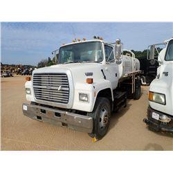1994 FORD L8000 WATER TRUCK, VIN/SN:1FDXR82E1RVA46105 - S/A, CUMMINS DIESEL ENGINE, 6 SPEED TRANS, G