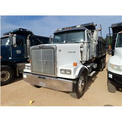 2005 WESTERN STAR DUMP TRUCK, VIN/SN:5TTHAECV55PU45531 - T/A, 460HP MERCADES BENZ DIESEL ENGINE, ALL