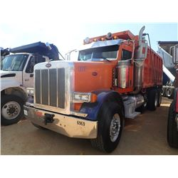 1999 PETERBILT 379 DUMP TRUCK, VIN/SN:1XP5DR9X4XN461311 - TRI AXLE, 470 HP CAT C13 (RECENT OUT OF FR