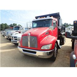2009 KENWORTH T300 DUMP TRUCK, VIN/SN:2NKHHM7X69M246913 - S/A, PACCAR PX-6 ENGINE, ALLISON A/T, 10'