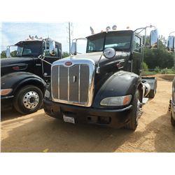 2013 PETERBILT 386 TRUCK TRACTOR, VIN/SN:1XPHDP9X6DD202466 - T/A, PACCAR MX DIESEL ENGINE, 10 SPEED,