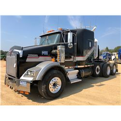 1998 KENWORTH T800 TRUCK TRACTOR, VIN/SN:1XKDDB0X52J59264 - TRI-AXLE, 425 HP CAT ENGINEM, 13 SPD TRA