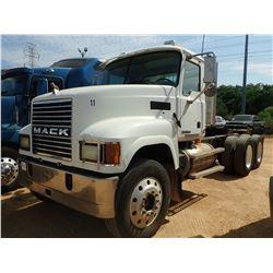 "2006 MACK CHN613 TRUCK TRACTOR, VIN/SN:1M2AJ06Y76N004889 - T/A, MACK ENGINE, MACK T310M TRANS, 208"""