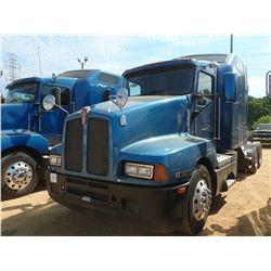 2007 KENWORTH T600 TRUCK TRACTOR, VIN/SN:1XKADB9X07J179363 - T/A, C15 CAT DIESEL ENGINE, 13 SPD TRAN