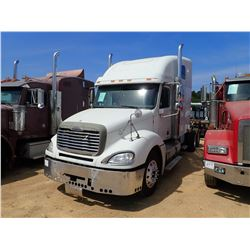 2003 FREIGHTLINER COLUMBIA TRUCK TRACTOR, VIN/SN:1FUJA6C033PK22307 - T/A, 470 HP S60 DETRIOT ENGINE,