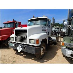 1993 MACK CH613 TRUCK TRACTOR, VIN/SN:1M2AA13Y4PW019212 - T/A, MACK E7350 E7350 ENGINE, 10 SPEED TRA