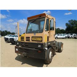 CAPACITY YARD SPOTTER TRUCK, S/A, ODOMETER READING 46,801 MILES