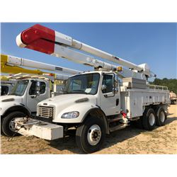 2007 FREIGHTLINER BUSINESS CLASS M2 BUCKET TRUCK, VIN/SN:1FVHCYDC47HX27400 - T/A, CAT C7 ENGINE, ALL