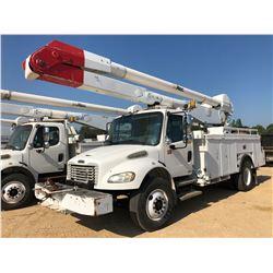 2007 FREIGHTLINER M2 BUCKET TRUCK, VIN/SN:1FYACY0C97HX10612 - S/A, 250 HP CAT C7 ENGINE, ALLISON A/T