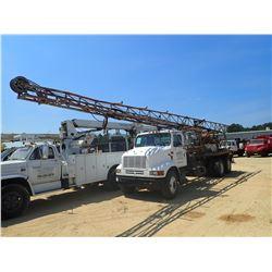 1999 INTERNATIONAL DRILL TRUCK, VIN/SN:1HSHBALNXRH89341 - T/A, CUMMINS DIESEL ENGINE, 9 SPEED TRANS,