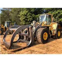 2013 VOLVO L150G WHEEL LOADER, VIN/SN:23068 - FORKS W/TOP CLAMP, AUX HYD, RIDE CONTROL, AUTO LUBE, C