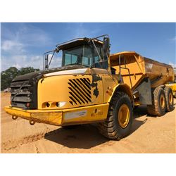 2008 VOLVO A25E ARTICULATED DUMP, VIN/SN:V73002 - CAB, A/C, 23.5R25 TIRES, METER READING 9,853 HOURS