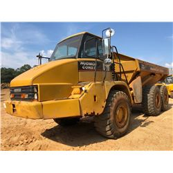 2003 CAT 725 ARTICULATED DUMP, VIN/SN:AFX00701 - CAB, A/C, AUTO LUBE, 23.5-25 TIRES, METER READING 1