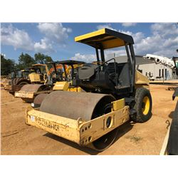 """BOMAG BW177D-40 ROLLER, VIN/SN:901582291038 - VIBRATORY, 66"""" SMOOTH DRUM, CANOPY, METER READING 1,44"""