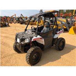 2015 POLARIS SPORTSMAN ACE UTV, VIN/SN:4XADAA322FA622806 - 4X4, 325CC ENGINE, ROLL BAR CANOPY, METER