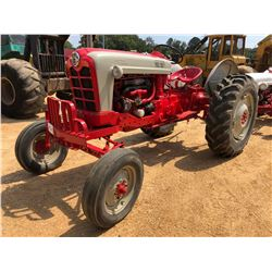 FORD 900 HIGH CROP FARM TRACTOR, VIN/SN:142536 - 13.6-28 TIRES
