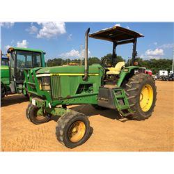 JOHN DEERE 7210 FARM TRACTOR, VIN/SN:010980 - 2 REMOTES, CANOPY, 18.4-34 TIRES