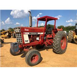INTERNATIONAL 1066 FARMALL FARM TRACTOR, VIN/SN:2610159U009246 - 2 REMOTES, CANOPY, 18.4-38 TIRES