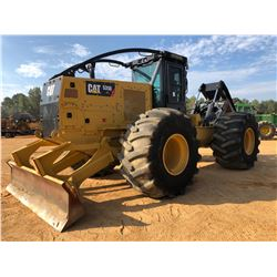 2016 CAT 535D SKIDDER, VIN/SN:MTP00292 - GRAPPLE, DUAL ARCH, WINCH, CAB, A/C, 35.5-32 TIRES, METER R