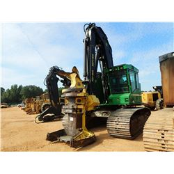 2014 JOHN DEERE 753J FELLER BUNCHER, VIN/SN:267646 - CRAWLER, JOHN DEERE SAW HEAD, CAB, AC, METER RE