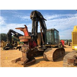 CAT TK711 FELLER BUNCHER, VIN/SN:10100263 - TRACK MOUNTED, ROTATING SAW HEAD, CAB, A/C, METER READIN