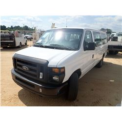 2014 FORD E350 PASSENGER VAN, VIN/SN:1FBSS3BL2EDA74567 - V8 GAS ENGINE, A/T, ODOMETER READING 300,63