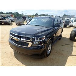 2015 CHEVROLET TAHOE LT VIN/SN:1GNSKBKC0FR545780 - 4X4, V8 GAS ENGINE, A/T, ODOMETER READING 89,874