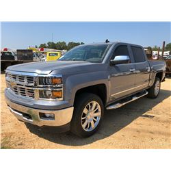 2015 CHEVROLET SILVERADO Z71 PICK UP, VIN/SN:3GCUKSEC0FG481804 - 4X4, CREW CAB, V8 GAS ENGINE, A/T,