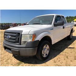 2011 FORD F150 PICKUP TRUCK, VIN/SN:1FTEX1EM2BFB04248 - 4X4, EXT CAB, V8 GAS, A/T, ODOMETER READING