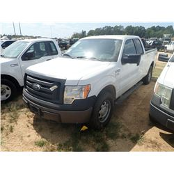 2010 FORD F150 PICKUP TRUCK, VIN/SN:1FTFX1EV7AFC63357 - 4X4, EXT CAB, V8 GAS ENGINE, A/T, ODOMETER R