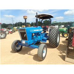 FORD 5900 FARM TRACTOR, VIN/SN:L370Y30 - CANOPY, METER READING 4,542 HOURS
