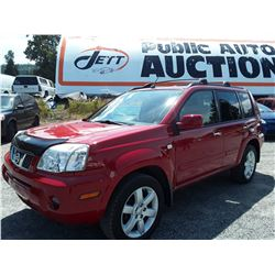 H1 --  2006 NISSAN X-TRAIL XE , Red , 187274  KM's