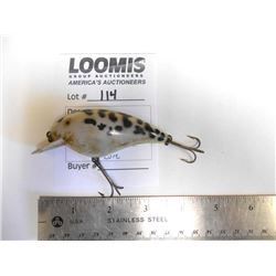 VINTAGE HEDDON BIG HEAD RATTLE FISHING LURE