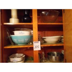 KITCHEN CUPBOARD CONTENTS LOT