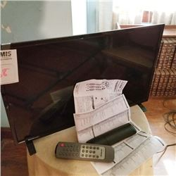 HDTV FLAT SCREEN TV WITH DOLBY SOUND
