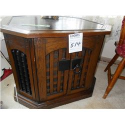 VINTAGE MAGNAVOX STEREO/RECORD PLAYER/TABLE LAMP