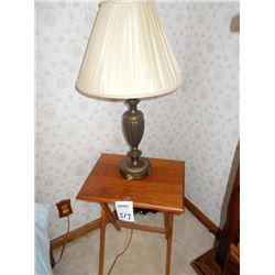 FOLDING STAND AND TABLE LAMP