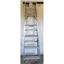 6 FOOT WERNER ALUMINUM STEP LADDER