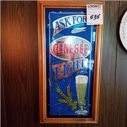 GENESEE LIGHT BEER SIGN